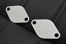 VW EGR BLANKING PLATE *PAIR* 1.2 1.4 1.9 2.0 TDI LUPO BORA POLO GOLF T4 T5 CADDY