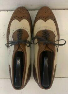Allen Edmonds Broadstreet 8 1/2 D 9033 30352 Leather men's shoes