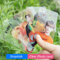 Kpop Straykids PVC Clear Photo Card Blackpink HD Photocard Collective Cards