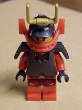 Lego Ninja Ninjago - Nya - Samurai Figur rot mit Helm u. Rüstung ( Nia Nja ) Neu