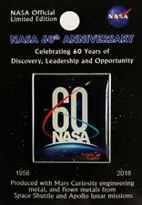NASA 60TH ANNIVERSARY Official Limited Edition Lapel Pin