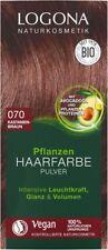 Logona Pflanzen-Haarfarbe Pulver 070 kastanienbraun  100 g