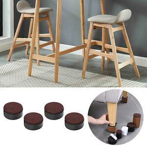 4 pcs Bed Risers Solid Leg Support Sofa Feet Protector Under Bed Storage