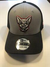 El Paso Chihuahuas New Era 39Thirty Fitted Hat M/L Gray Minor League Baseball