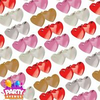 Double Heart Balloon Weight Foil Birthday Wedding Valentines Party Decoration