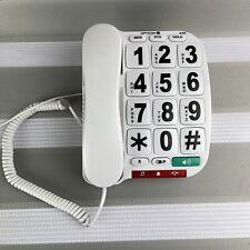 Opticom B300 Big Button Corded Phone house office telephone With Speakerphone