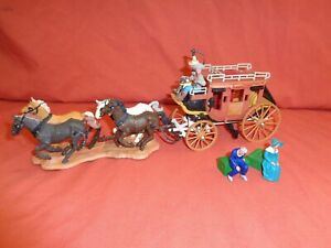 Vintage Britains Concord Overland US Mail Stage Coach  Number 7615