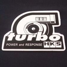 "3"" HKS Turbo Equipped Sticker Under hood Waterproof Bumper"
