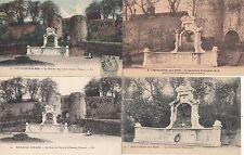 lot 4 cartes postales anciennes BOULOGNE-SUR-MER souvenir français