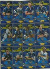 2012 NRL SELECT DYNASTY GOLD COAST TITANS SILVER PARALLEL TEAM SET 12 CARDS