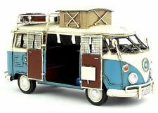 1964 model Kombi Camper Van in blue with Home Mobile vw Decorative Bus Sale Gift