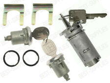 Ignition Lock Cylinder & Door Lock Pair Set W/ Keys for listed Jeep vehicles