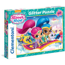 Clementoni Shimmer & Shine Glitter Jigsaw Puzzle (104 Piece) NEW