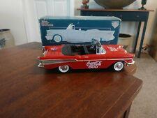 1957 Chevrolet Racing Champions Coca Cola 600 Collectors Bank