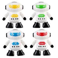 Magic Clockwork Wind Up Running Robot Toy for Baby Kids Developmental Gift Toys