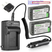 Kastar Battery AC Travel Charger for Panasonic CGRD08 AG-DVX100 AG-DVX100A NV-C1