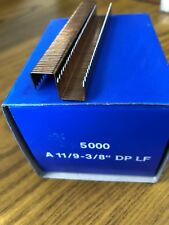 """A11/9 3/8"""" Staples 2 Boxes  of 5000"""