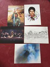 Rare  5 Michael Jackson Giorgio Nate Opus 7x 5 Inches Prints Set 2