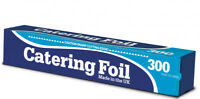 1 x Kitchen Catering Aluminium Foil Oven Roasting Grill Baking Wrap 300mm x30m