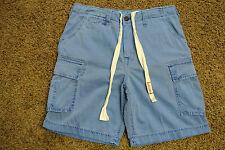 TRUE RELIGION CARGO BOARD SAMPLE Shorts 32 NWOT$259 Shaded Blue!Signature Logo's