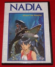 Nadia: Secret of the Blue Water Vol. 3 - Aboard the Nautilus (DVD, 2001) DVD NEW
