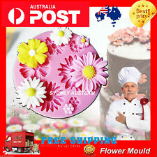 Silicone Round Fondant Flowers Mold Cake Soap Candle Cookie Candy Sydney 2020 au