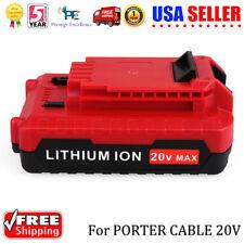 For Porter Cable PCC680L PCC682L PCC685LP 20V MAX Li-ion 2.0Ah Compact Battery