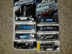 2017 Fast and Furious Hot Wheels - Complete Set - 8 CARS