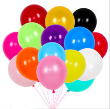 Five Balloons Set Multiple Colors for Birthday Party Supplies Event Decorations