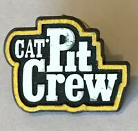 Cat Pit Crew Heavy Equipment Brand Pin Badge Rare Vintage Advertising (H5)