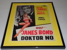 Dr No James Bond Turkey Framed 11x14 Repro Poster Display Ursula Andress