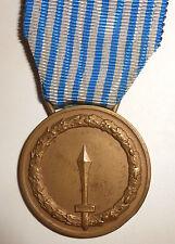Medaglia Repubblica Italiana  al Merito di Lungo Comando in Bronzo - della Zecca