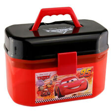 Disney Cars Lightning McQueen Suitcase Storage Box Plastic (No Cars) In Stock