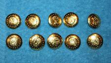 """10  """"MONTANA""""  Waterbury Button Co. Buttons  NOS"""