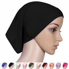 Muslim Women Hijab Ninja Underscarf Head Neck Cover Bonnet Hat Cap Under Scarf