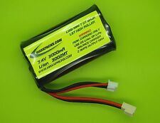 New 3000mAh 7.4V Battery Fits Pro Boat Mini C/ Made In Usa / 3002Mt