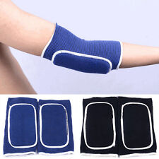 2PCS Elastic Foam Pad Arm Elbow Guard Brace Sport Volleyball Protector Support#