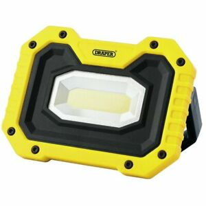DRAPER 90004 RECHARGEABLE WORKLIGHT WITH WIRELESS SPEAKER YELLOW NEW IN STOCK