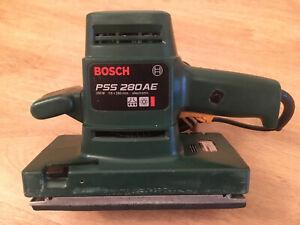 Bosch PSS 280AE  Schwingschleifer Rutscher Vibrationsschleifer 250 Watt