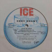 Eddy Grant Love In Exile ICE Records LP VG+ #4096