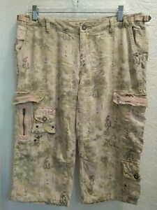 Da Nang RARE Surplus Indo Chine Military Style Cargo Pant SIZE LARGE Silk Cotton