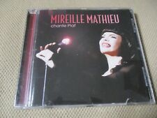 "CD ""MIREILLE MATHIEU chante EDITH PIAF"" 16 titres"