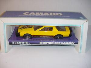 1/16 Vintage Motorized Camaro Car by ERTL NIB! Never Played With!