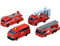TAKARA TOMY TOMICA FIRE ENGINE CELLECTION 2 NEW from Japan F/S