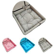 Puppy Dog Bed Pet Cat Kitten Bed Cushion House Mattress Set Warm Kennel Blanket