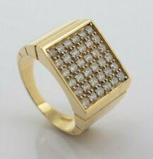 with Cubic Zirconia 14K Yellow Gold Ring