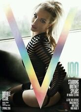 V Magazine: Britney Spears Cover: Spring 2016: Double Issue # 100 , Cover #2