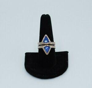 Anna Beck Triplet Ring