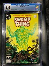 Swamp Thing #37 CGC 9.4 WP 1985 🔥 1st app. John Constantine Hellblazer 🔥