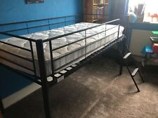 kids black midi sleeper bed excellent condition
